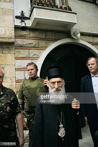 Troubles in Yugoslavia in June, 1999 - Pavle, Serbian orthodox patriarch.
