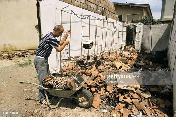 Troubles in Yugoslavia in June, 1999.