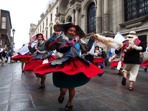 PER: Virgin of Candelaria Festival in Peru