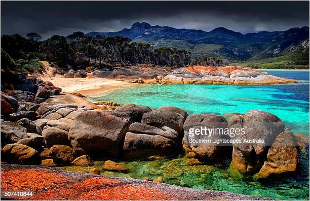 Trouser's point, Lacotta, Flinders Island, Bass Strait, Tasmania, Australia.