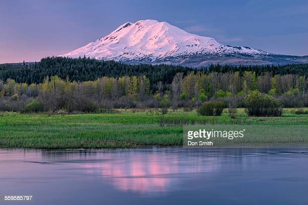 Trout Lake and Mt. Adams