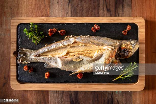 Troutifully baked trout