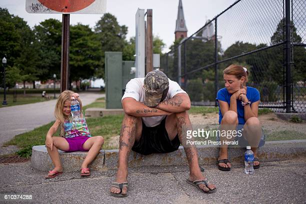 Troy and Chrissy wait in Kennedy Park to hear from the property management company or the landlord Upon arriving in Lewiston thinking that they could...