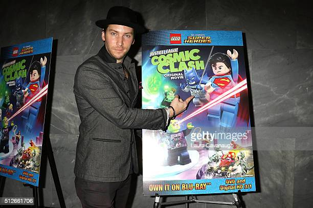 Troy Baker attends Lego DC Comics Super Heroes Justice League Cosmic Clash at The Paley Center for Media on February 27 2016 in New York City