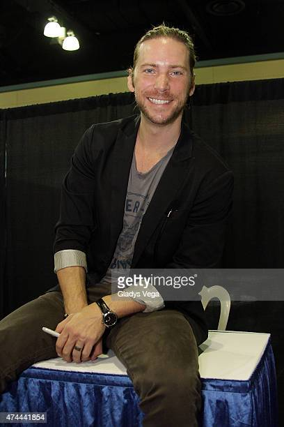 Troy Baker attends Puerto Rico Comic Con at the Puerto Rico Convention Center on May 22 2015 in San Juan Puerto Rico