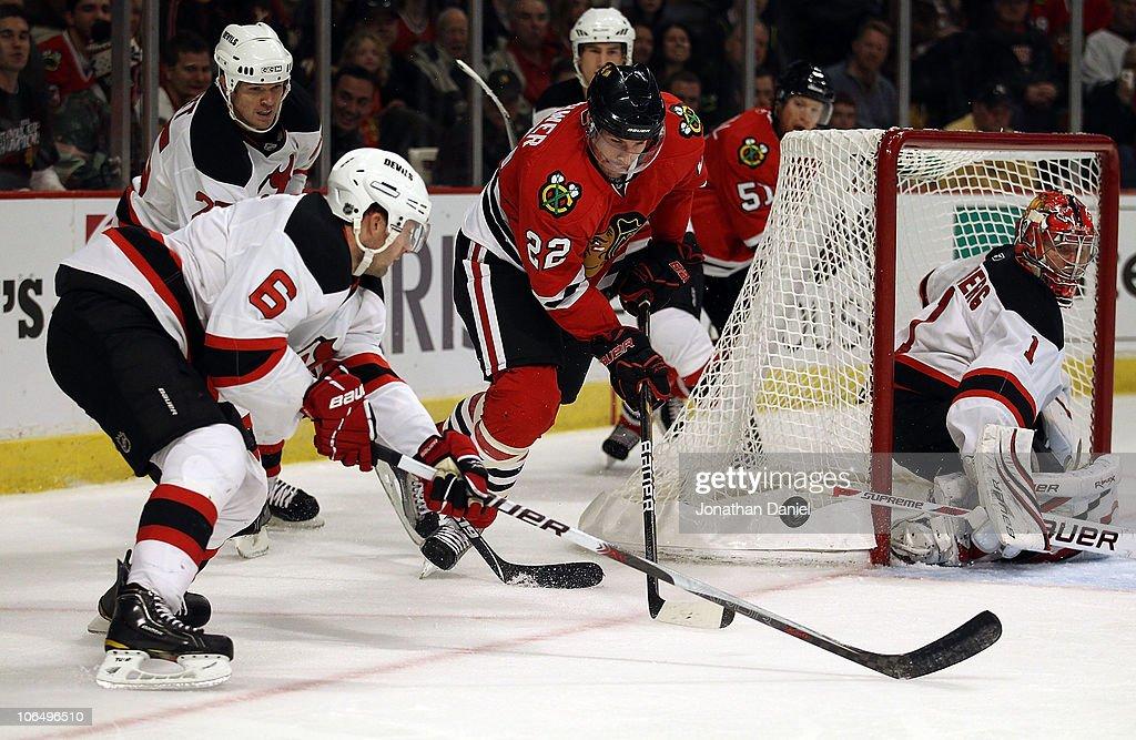 New Jersey Devils v Chicago Blackhawks : News Photo