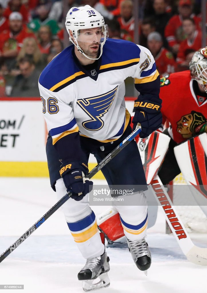St. Louis Blues v Chicago Blackhawks : News Photo