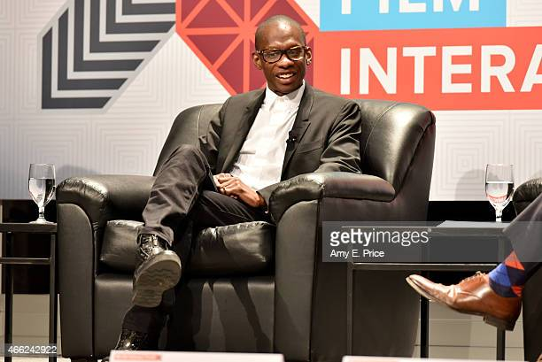 Troy Carter CEO/Founder of Atom Factory speaks onstage at 'LA and the Innovation Economy' during the 2015 SXSW Music Film Interactive Festival at...