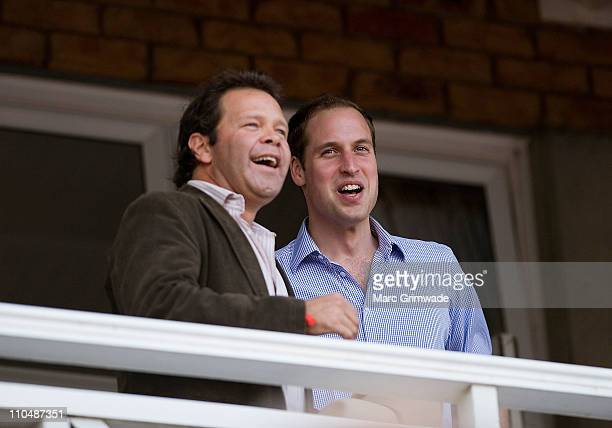 Troy CassarDaley and HRH Prince William attend the 'Spirit of the Country' concert at the Toowoomba Showgrounds on March 20 2011 in Brisbane...
