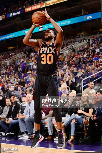 Troy Daniels of the Phoenix Suns on April 5 2019 at Talking Stick Resort Arena in Phoenix Arizona NOTE TO USER User expressly acknowledges and agrees...