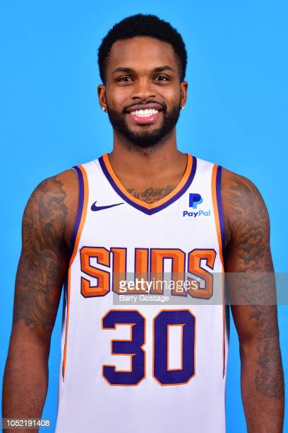 Troy Daniels of the Phoenix Suns poses for a head shot on October 5 at Talking Stick Resort Arena in Phoenix Arizona NOTE TO USER User expressly...