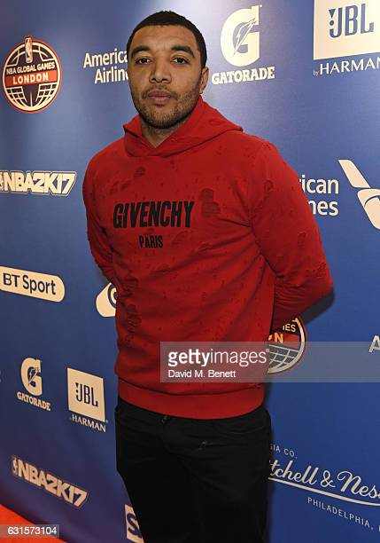 Troy Deeney attends the NBA Global Game London 2017 after party at The O2 Arena on January 12 2017 in London England