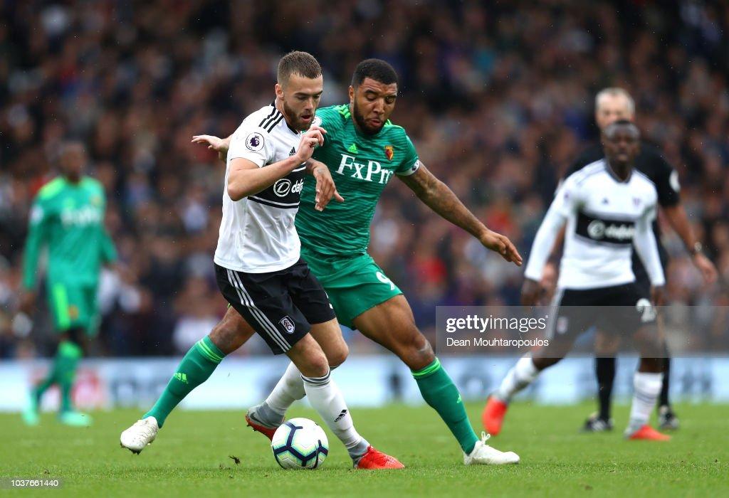 Fulham FC v Watford FC - Premier League : ニュース写真