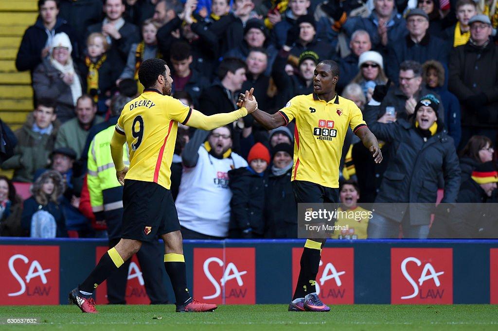Watford v Crystal Palace  - Premier League : News Photo