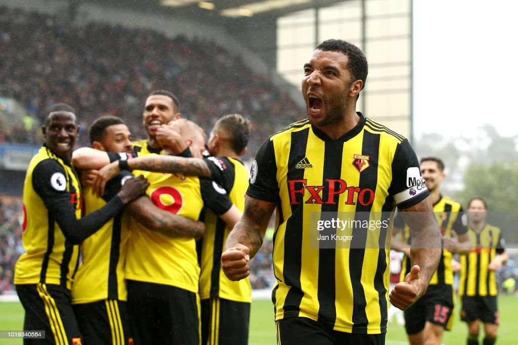 Burnley FC v Watford FC - Premier League : News Photo