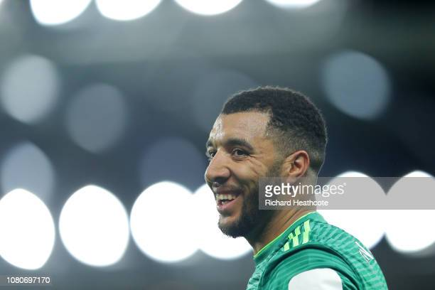 Troy Deeney of Watford during the Premier League match between Everton FC and Watford FC at Goodison Park on December 10 2018 in Liverpool United...