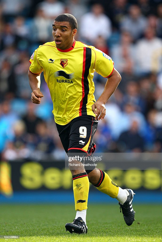 Troy Deeney of Watford in action during the npower Championship match between Millwall and Watford at The Den on September 18, 2010 in London, England.