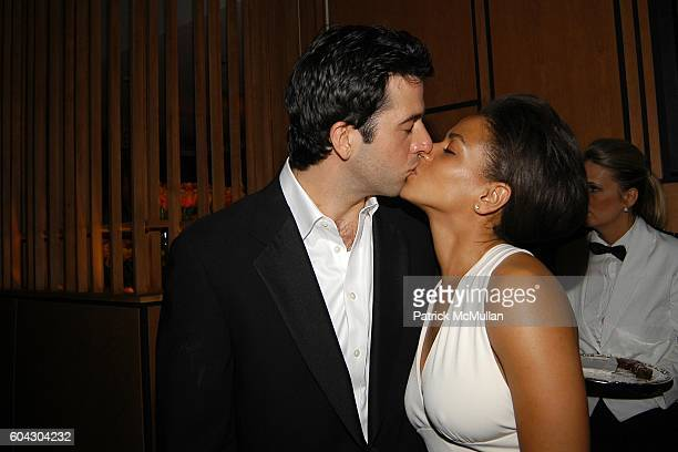 Troy Garity and Simone Bent attend Vanity Fair Oscar Party at Morton's Restaurant on March 5 2006