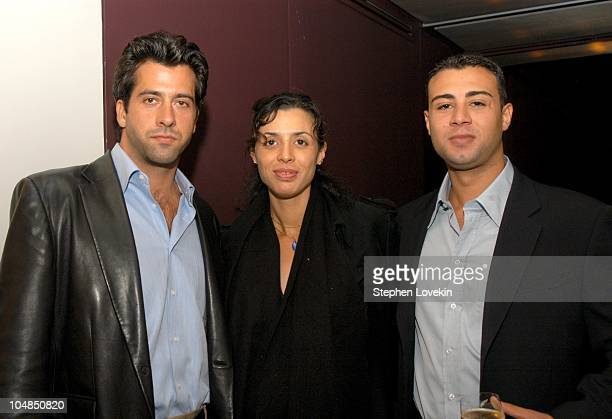 Troy Garity Drena De Niro and Raphael De Niro during Showtime and the Creative Coalition Host a Private Screening of Soldier's Girl at Paramount...