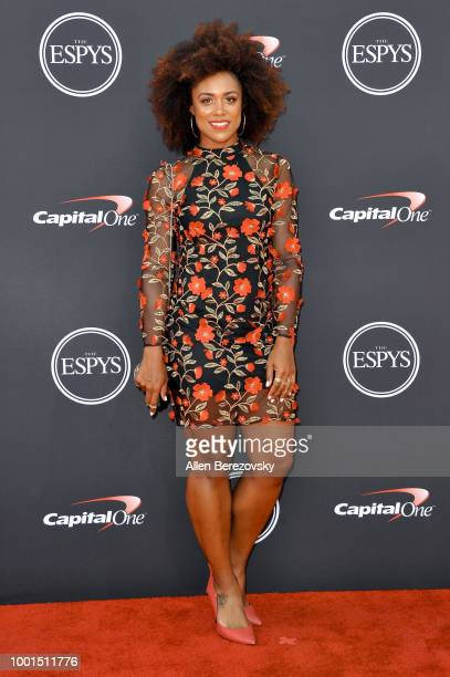 Troy Mullins attends The 2018 ESPYS at Microsoft Theater on July 18 2018 in Los Angeles California