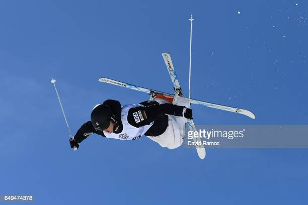 Troy Murphy of the United States competes in the Men's Moguls qualification on day one of the FIS Freestyle Ski Snowboard World Championships 2017 on...