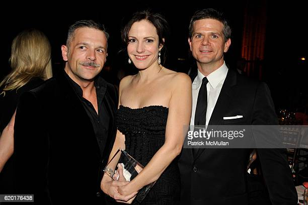 Troy Nankin Mary Louise Parker and O'Brien Kelly attend THE 2008 EMERY AWARDS Benefiting the HETRICKMARTIN Institute at Cipriani 42nd Street on...