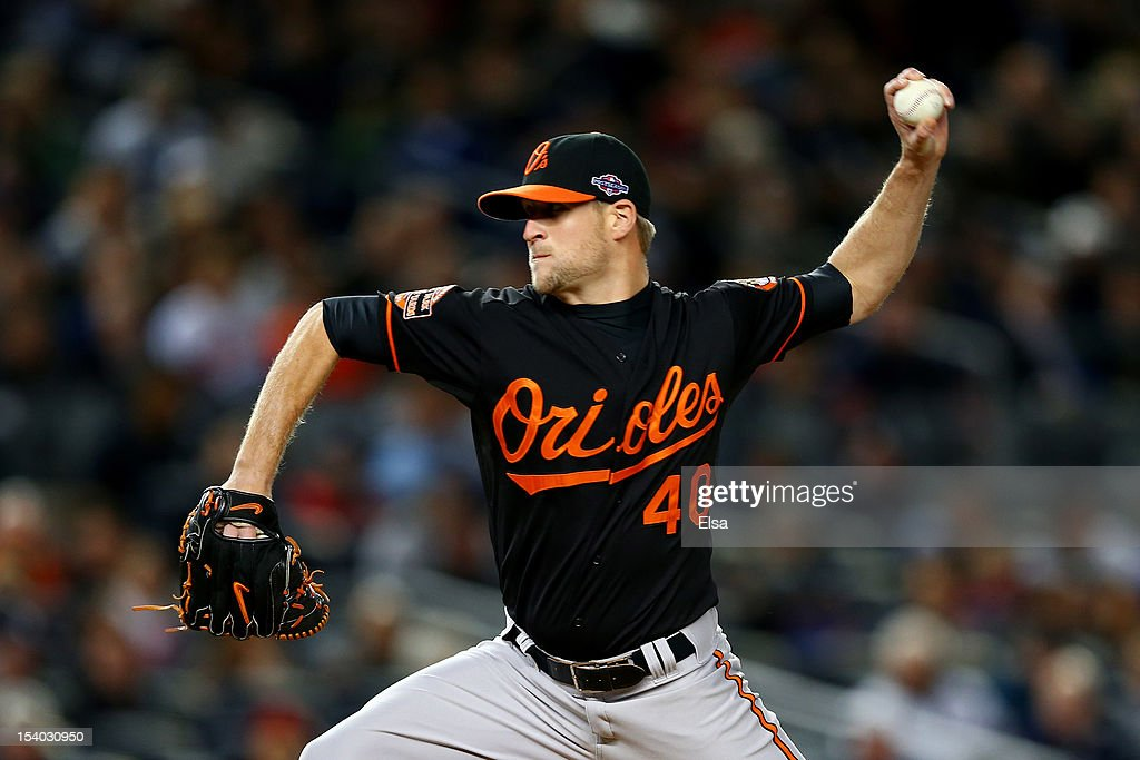 Division Series - Baltimore Orioles v New York Yankees - Game Five : News Photo