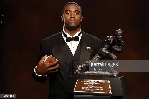 Troy Smith 2006 Heisman Trophy winner and Ohio State Quarterback in New York City New York on December 12 2006