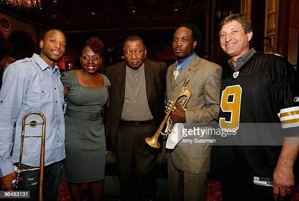 Troy Trumbone Shorty Andrews Ledisi Bob French Shamarr Allen and Director of Programs and Marketing for the Louisiana Jazz and Heritage Foundation...