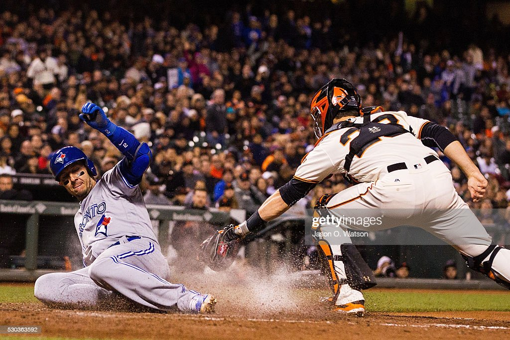 Toronto Blue Jays v San Francisco Giants