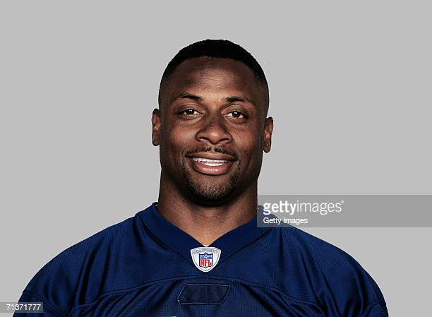 Troy Vincent of the Buffalo Bills poses for his 2006 NFL headshot at photo day in Orchard Park, New York.