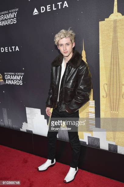 Troye Sivan attends Delta Air Lines the Official Airline Partner of the GRAMMY Awards® and Supporter of FirstTime Nominees hosted a private...