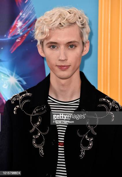 Troye Sivan attends FOX's Teen Choice Awards at The Forum on August 12 2018 in Inglewood California
