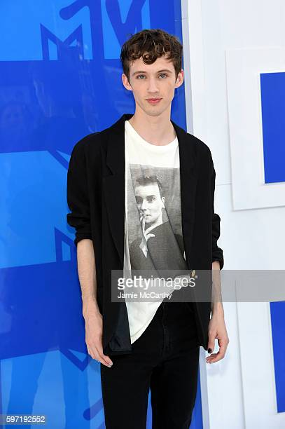 Troye Sivan attends the 2016 MTV Video Music Awards at Madison Square Garden on August 28 2016 in New York City