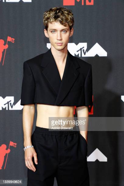 Troye Sivan attends the 2021 MTV Video Music Awards at Barclays Center on September 12, 2021 in the Brooklyn borough of New York City.