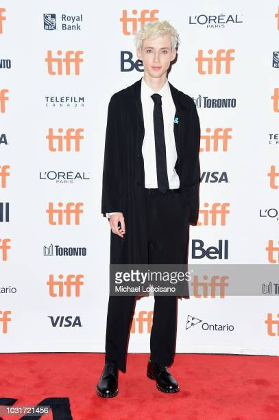 Troye Sivan attends the Boy Erased premiere during 2018 Toronto International Film Festival at Princess of Wales Theatre on September 11 2018 in...
