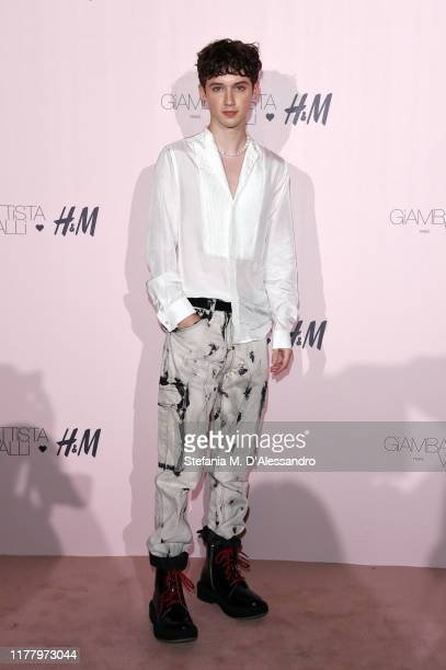 Troye Sivan attends the 'Giambattista Valli Loves H&M' Show on October 24, 2019 in Rome, Italy.