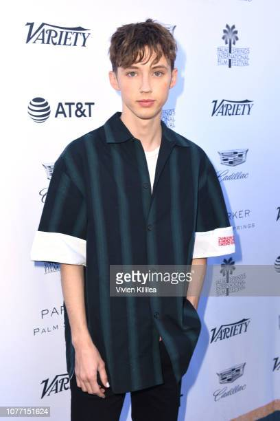 Troye Sivan attends Variety's Creative Impact Awards and 10 Directors to Watch Brunch during the 30th annual Palm Springs International Film Festival...