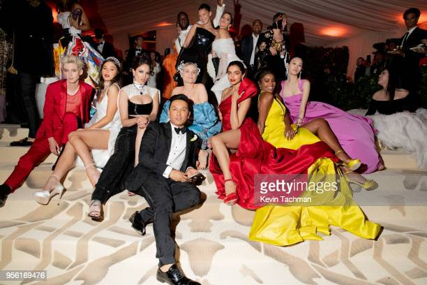 Troye Sivan Hailee Steinfeld Eiza Gonzalez Diane Kruger designer Prabal Gurung Gabrielle Union Ming Xi Virgil Abloh Bella Hadid and Kendall Jenner...