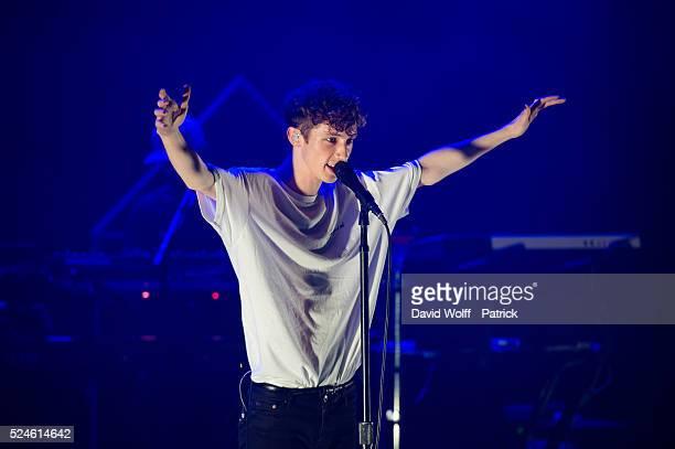Troye Sivan performs at La Cigale on April 26 2016 in Paris France