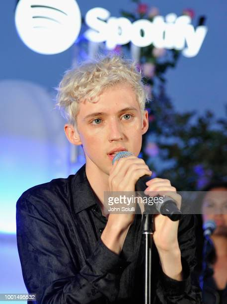 Troye Sivan performs for his biggest fans from Spotify at a special event at Baldwin Hills Scenic Overview to celebrate his forthcoming album Bloom...