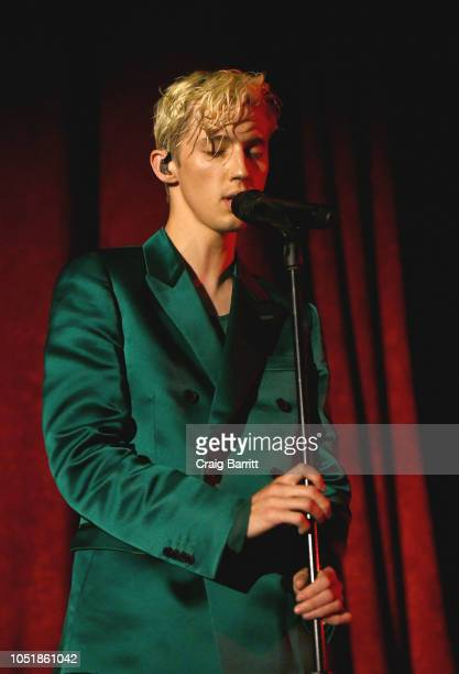 Troye Sivan performs in concert at Radio City Music Hall on October 9 2018 in New York City