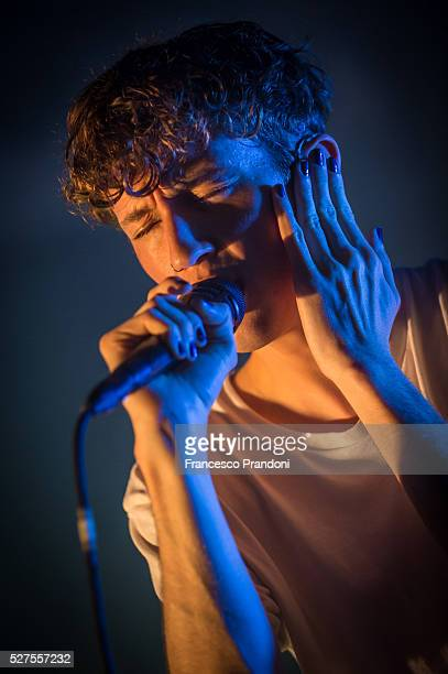 Troye Sivan performs on May 2 2016 in Milan Italy