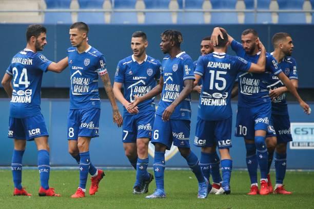FRA: ESTAC Troyes v Montpellier HSC - Ligue 1 Uber Eats