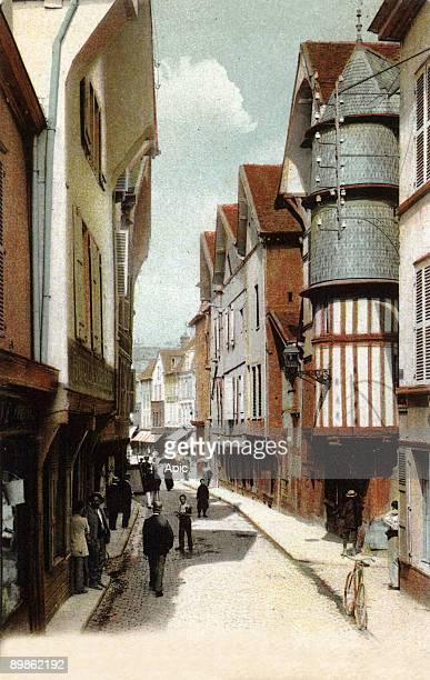 Troyes postcard c 1905
