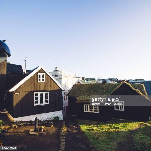Tórshavn black houses