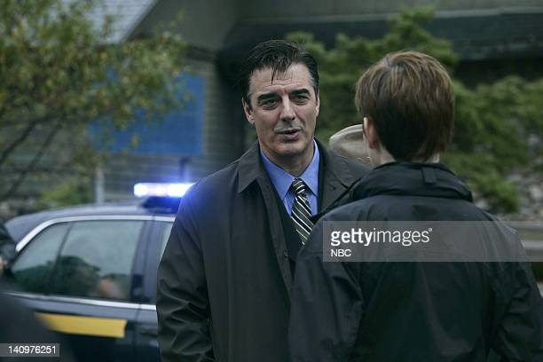 """Tru Love"""" Episode 2 -- Aired 9/26/06 -- Pictured: Chris Noth as Detective Mike Logan, Julianne Nicholson as Detective Megan Wheeler -- Photo by:..."""