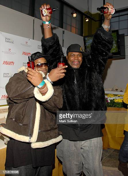 Tru Threat and Fred Mo attend the Pure Natural Celebrity EcoRetreat produced by backstage Creations on January 20 2008 in Park City Utah