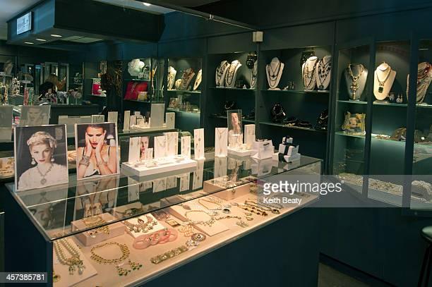 Tru-Bijoux jewellery pop-up store in Toronto. December 16, 2013.