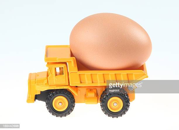 Truck and eggs